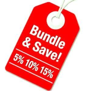 BUNDLE AND SAVE‼️